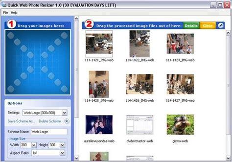 quick web photo resizer