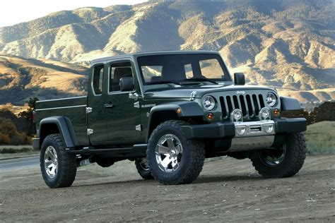 jeep concept truck gladiator sport car garage jeep pickup models for 2014