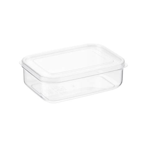 plastic storage containers for kitchen clear rectangular food storage the container 7506