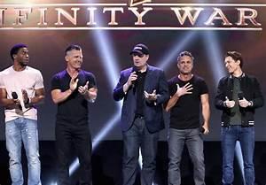 The cast of Avengers: Infinity War reunites at D23