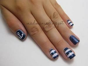 MaD Manis: Nautical Nails