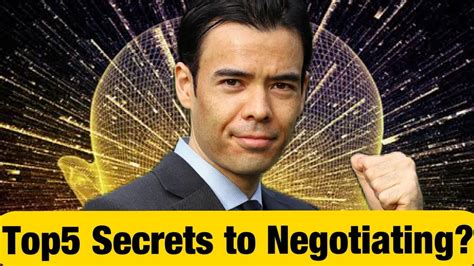 Top5 Secrets to Negotiating?? - YouTube