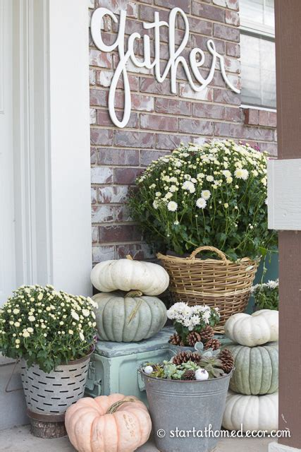 Adding Curb Appeal For Fall On A Budget  Fall Front. Ninja Turtle Party Decorations. Anniversary Table Decoration. Army Wall Decor. Letter Decoration. Rooms In Key West. Value City Dining Room Furniture. Living Room Lounge Chairs. Christmas Decoration Storage