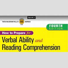 Download Verbal Ability And Reading Comprehension By Arun Sharma Ebook Pdf