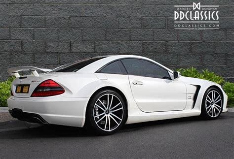 Mercedes Sl65 by Mercedes Sl 65 Amg Black Series Rhd