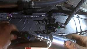 Fuel Filter Replacement Ford Ranger 2011 Install  Remove