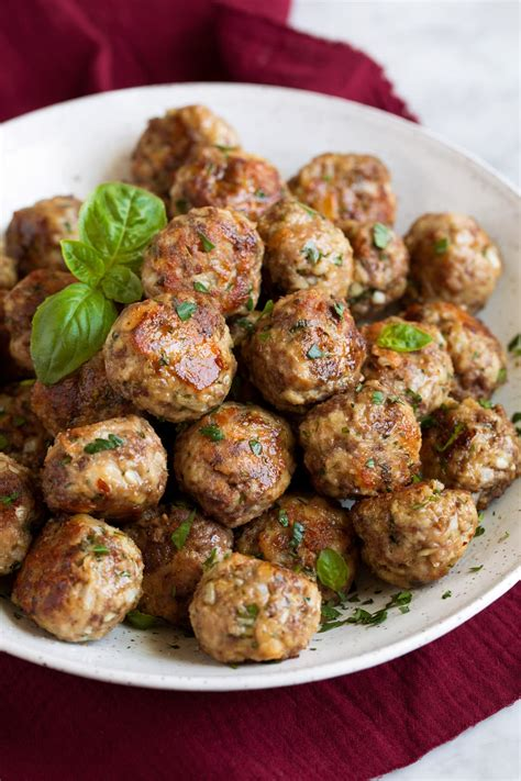 meatball recipe baked  fried cooking classy
