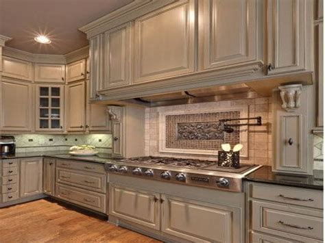 Modern kitchen tiles backsplash ideas, painted kitchen