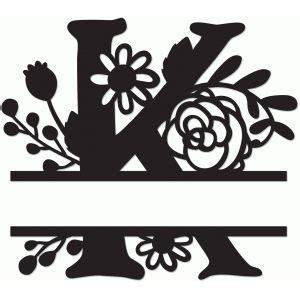 silhouette design store split monogram  cricut crafts silhouette design silhouette crafts