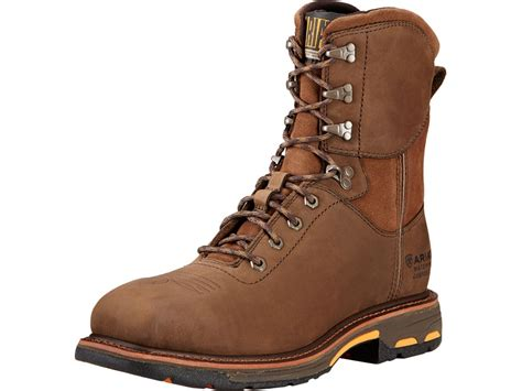 Ariat Workhog 8 Waterproof Square Composite Safety Toe