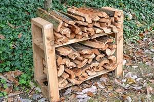 Diy, Small, Firewood, Rack
