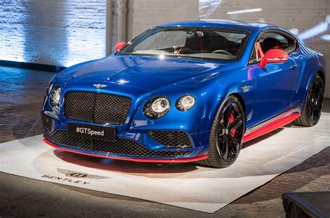 2017 Bentley Continental Gt Speed Starts At $240,300