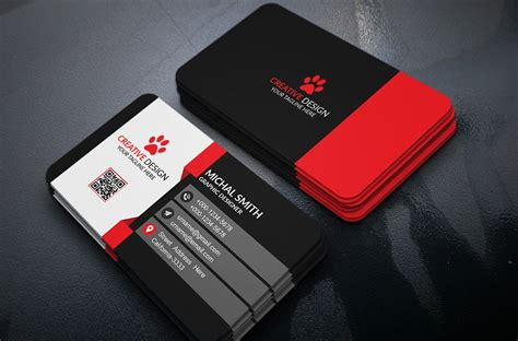 business card design softsols pakistan