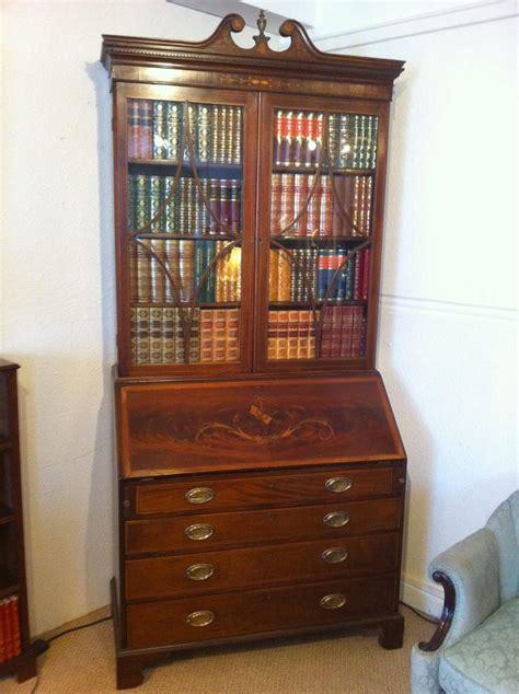 bureau bookcase george iii mahogany bureau bookcase antiques atlas