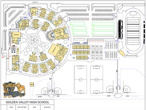 campus map miscellaneous golden valley high school