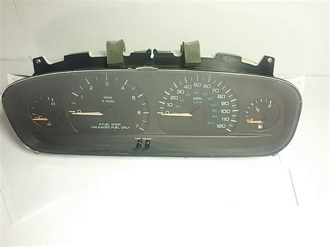 airbag deployment 2000 chrysler town country instrument cluster 1996 2000 chrysler town country dashboard instrument cluster