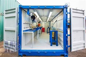 Container Als Garage : the 25 best shipping container workshop ideas on pinterest container cafe shipping container ~ Markanthonyermac.com Haus und Dekorationen