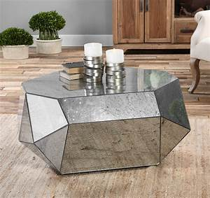 9 geometric coffee tables to perfectly align your life With contemporary mirrored coffee table