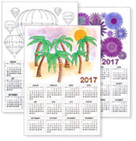 Kostenlose Kalendervorlagen  Kinderkalender alle Jahre