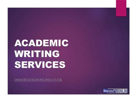 Academic writing services uk