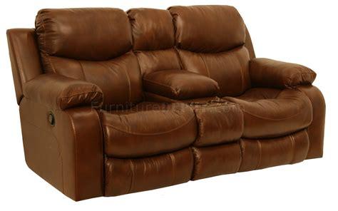 catnapper tobacco top grain leather dallas motion sofa