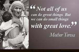20 Most Memorable Mother Teresa Quotes & Sayings ...
