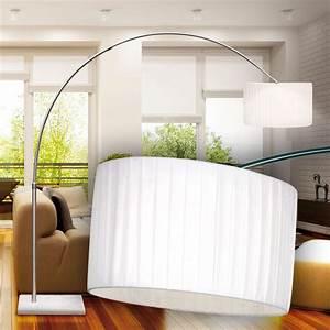 Lampe Salle A Manger : design lampadaire lampe t lescopique lampe salle manger marbre nickel salon ~ Teatrodelosmanantiales.com Idées de Décoration