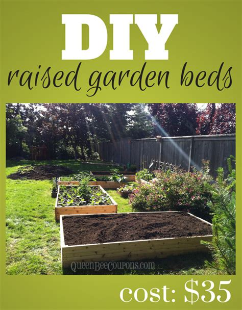 Raised Beds - How to build raised garden beds for $35