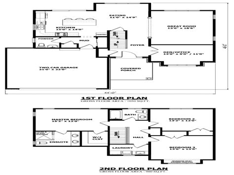 inexpensive  story house plans  storey house plans ontario home plans treesranchcom
