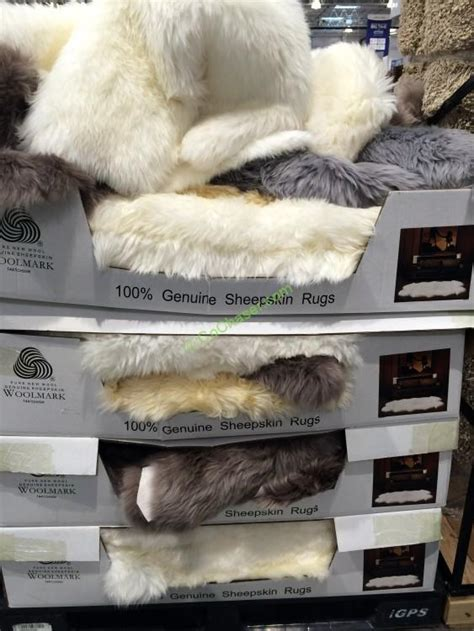 sheepskin rug costco windward sheepskin rug costcochaser