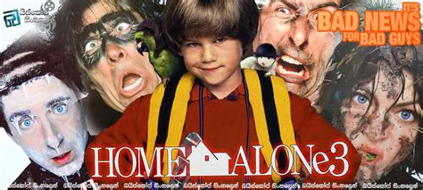 Home Alone 3 (1997)  මෙවර සොරකම් කිරීමක් පමනක්ම නොවේ [සිංහල උපසිරැසි සමඟ]  බයිස්කෝප් සිංහලෙන්