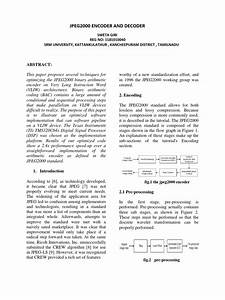 Jpeg Encoder And Decoder