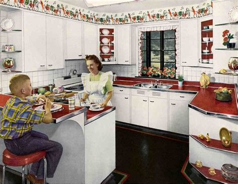 Kitchen Borders Ideas - 1940 39 s kitchens wall borders kitchens and walls