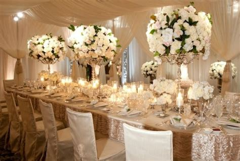 idee decoration florale table mariage