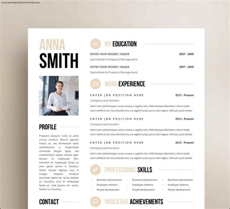 creative resume templates  word  samples