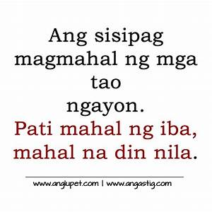 Tagalog Banat Q... Banat Patama Quotes