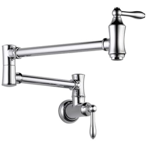 d1177lf pot filler kitchen faucet chrome at shop