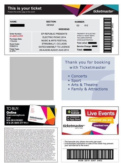 images  nfl fake ticket template canbumnet