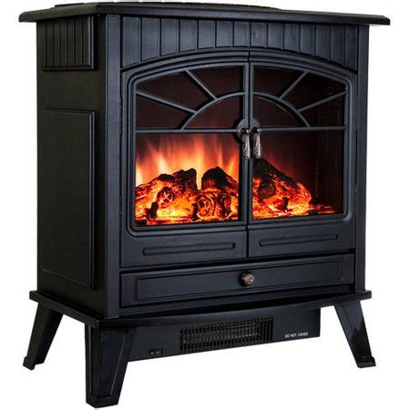 electric fireplace heater walmart akdy fp0033 23 quot 1500w freestanding electric fireplace