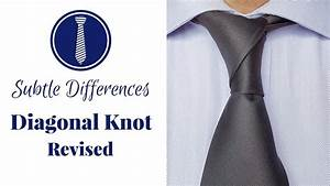 How To Tie A Tie  Diagonal Knot Best Instructions
