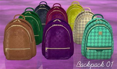 backpacks clutter  helen sims sims  updates