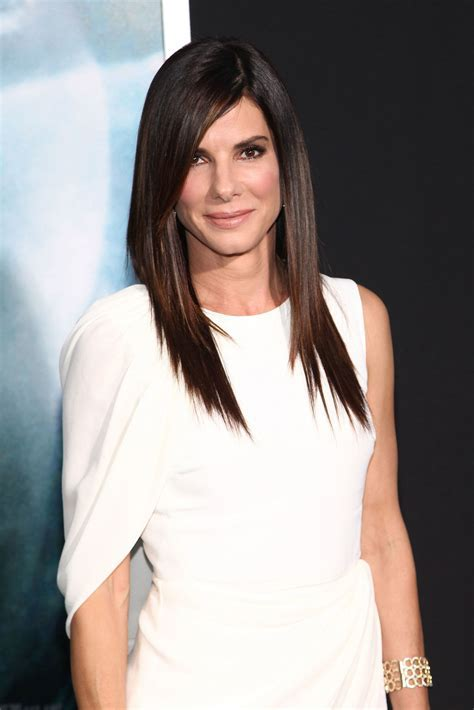 Sandra Bullock Might Just Have the Best Long Layered
