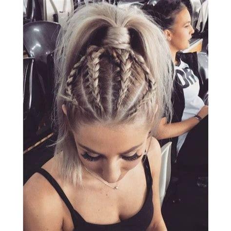 chic braid  ponytail styles   spice