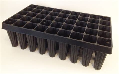 2x extra large plug plant root trainer seed trays 45