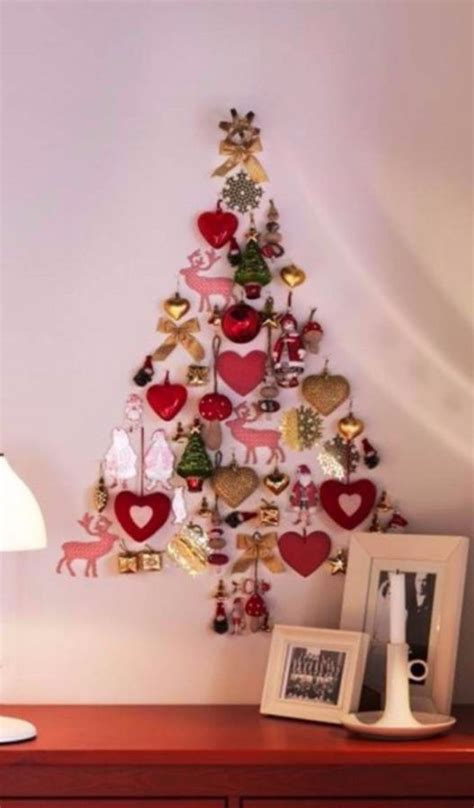 artificial wall christmas tree inspirations