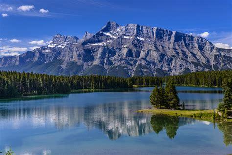 Two Jack Lake, Banff, Kanada Foto & Bild | world, wasser ...
