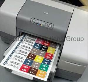 Automated file labeling printing color coded folder for File label printer
