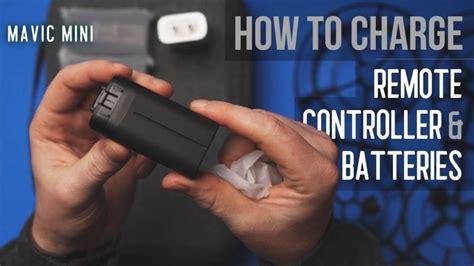 charge mavic mini remote controller  aerial guide