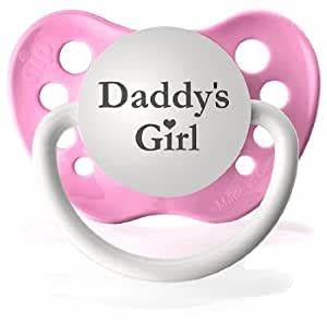 Amazon.com : Personalized Pacifier Expressions Daddy's ...