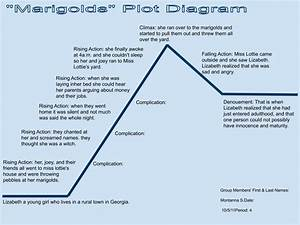 Montanna U0026 39 S Blog  Marigolds Plot Diagram